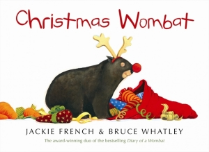 Christmas wombat by Jackie French and Bruce Whatley from 100 Stories Before School Australian stories Christmas booklist, with some extra old favourites.